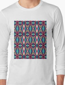 Cute Colourful Patterns Long Sleeve T-Shirt