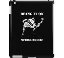 Badger Fights Back iPad Case/Skin