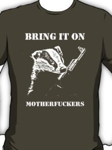 Badger Fights Back T-Shirt