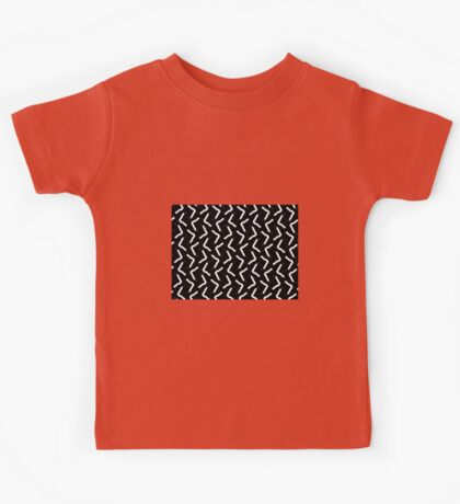 BLACK & WHITE MODERN DESIGN Kids Tee