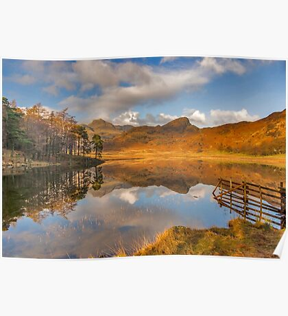 Blea Tarn Lake District Poster