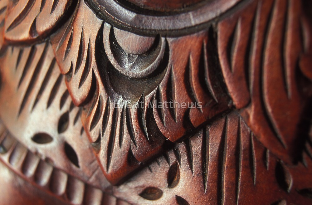 Carved in history by Brent Matthews