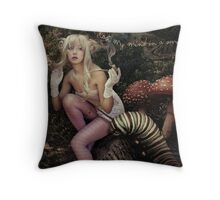 Oblivion Forest Throw Pillow