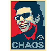 Ian Malcolm 'Chaos' T-Shirt Photographic Print