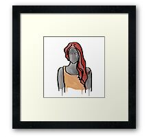 Can't Cry Out Loud Framed Print