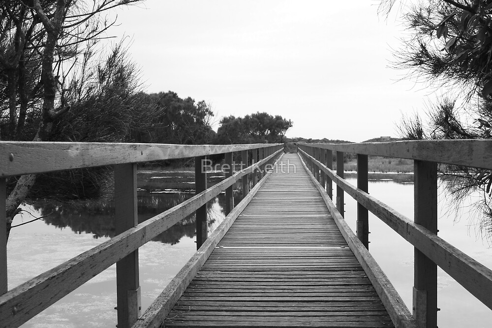Wooden Bridge by Brett Keith