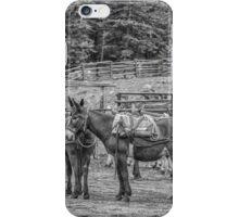 Pack Mules iPhone Case/Skin