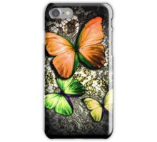 Gold Butterfly On Lace iPhone Case/Skin