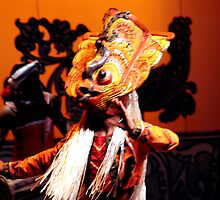 Devil dancert and Drumer by reggie