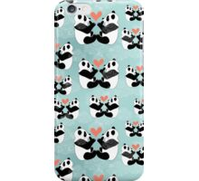 panda lovers iPhone Case/Skin