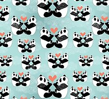 panda lovers by Tanor