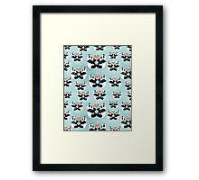 panda lovers Framed Print