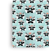 panda lovers Canvas Print