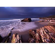 approaching cold front - East Gippsland, Vic. Photographic Print