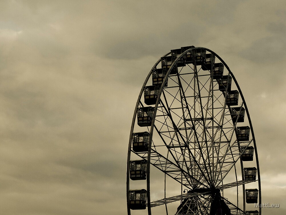 Melbourne Sky Wheel by MattLew
