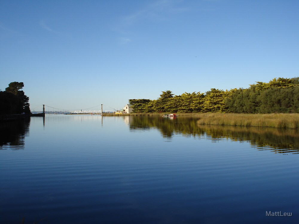 Lorne Lake and Bridge by MattLew