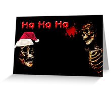 Ho Ho Ho Greeting Card