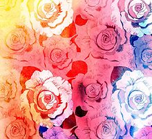 pattern of roses by Tanor