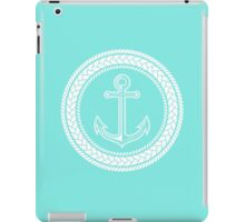 Anchor inside of ropes iPad Case/Skin