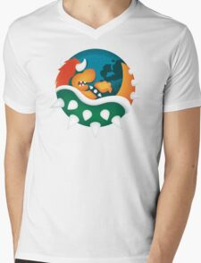 BrOWSER Mens V-Neck T-Shirt