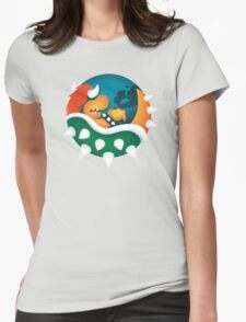 BrOWSER Womens Fitted T-Shirt