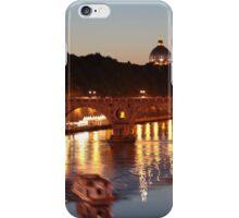 Tiber river in Rome iPhone Case/Skin