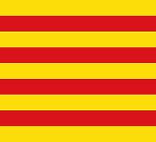 Flag of Catalonia  by abbeyz71