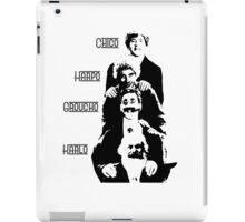 Communist Marx Brothers - Light background iPad Case/Skin