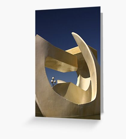 Sculpture #1 Greeting Card
