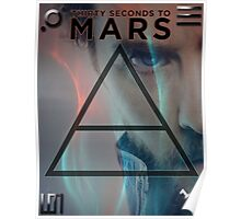 30 Seconds To Mars Poster Poster