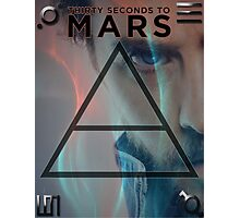 30 Seconds To Mars Poster Photographic Print
