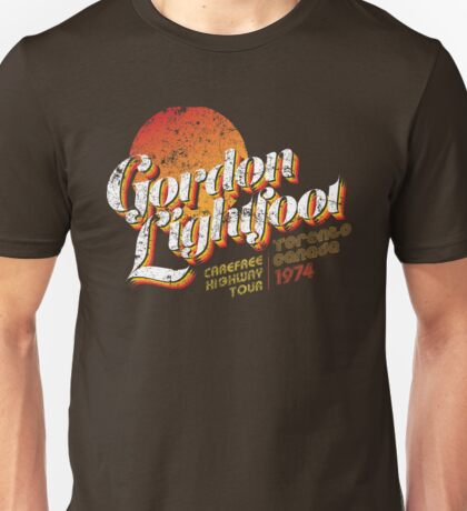 Gordon Lightfoot Unisex T-Shirt