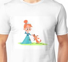 Princess and the Pooch Unisex T-Shirt