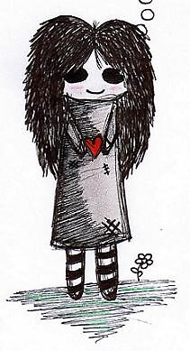 emo girl by elizabethrose05
