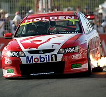 Mark Skaife at the Indy on Surfer's Paradise by John C McBain