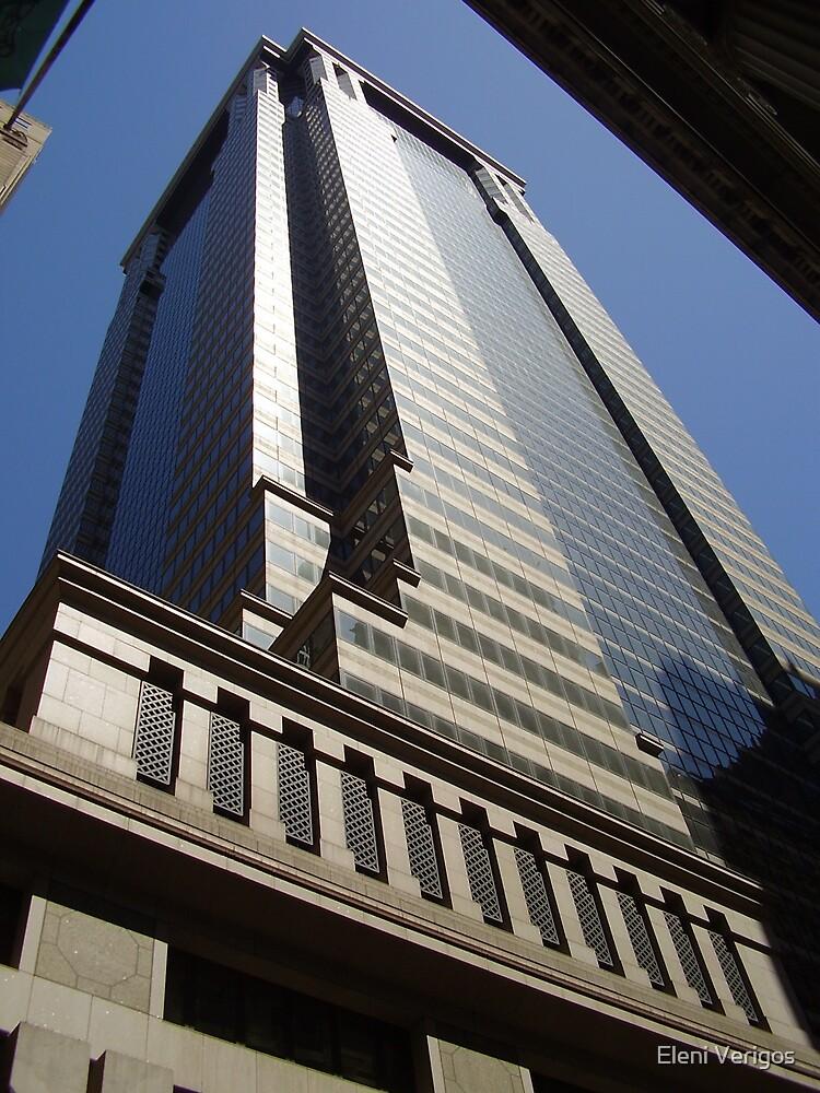 New York City Building by Eleni Verigos