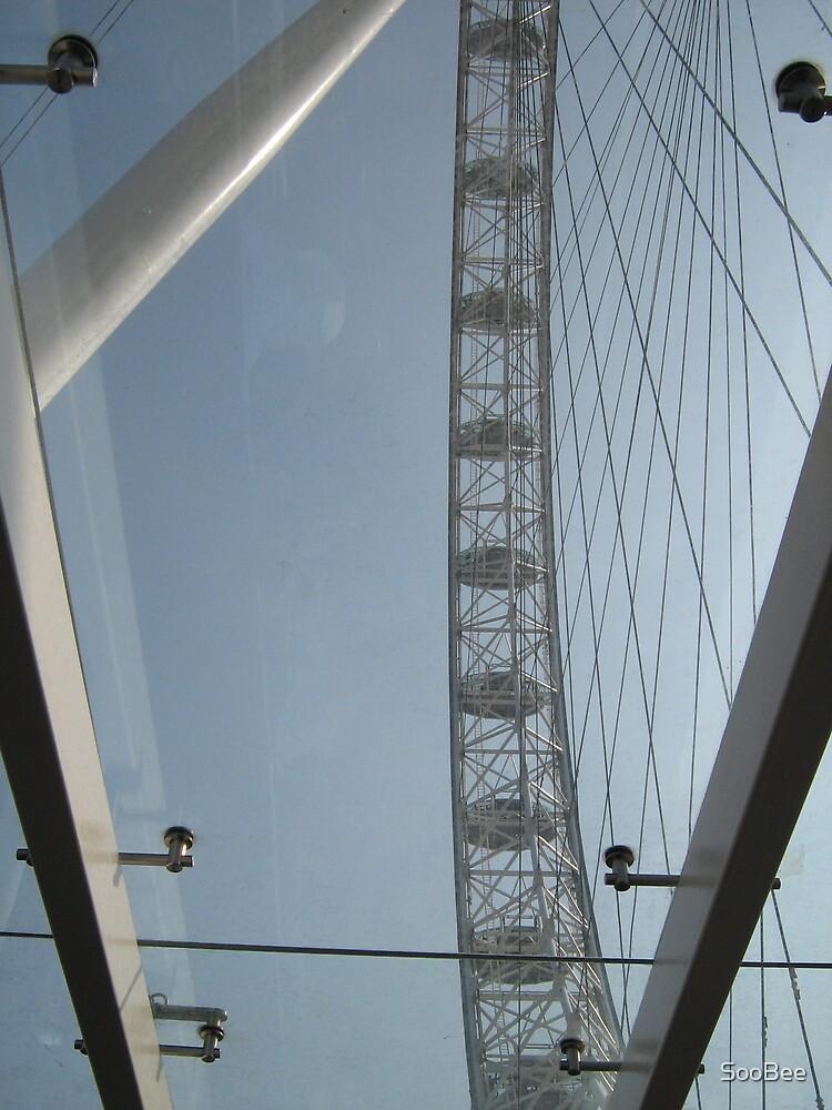 Inside the London Eye by SooBee