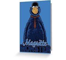 Magritte Monster Greeting Card
