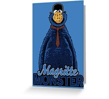 Magritte Monster Greeting Card