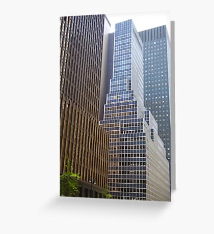 NYC Streetscape Greeting Card