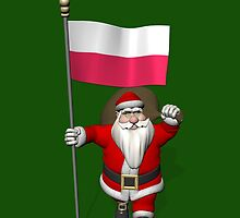 Santa Claus With Flag Of Poland by Mythos57