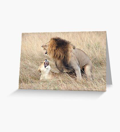 Nature calls Greeting Card