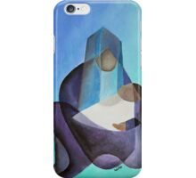 A Child Is Born Christmas Greeting iPhone Case/Skin