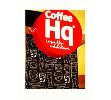 caffeine stop Art Print