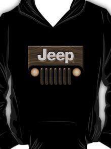 Jeep Willys ~ Wood [Black] T-Shirt