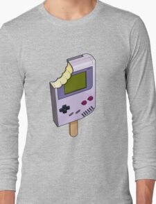 Game Boy Ice Cream Long Sleeve T-Shirt