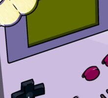 Game Boy Ice Cream Sticker