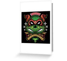 Dia De Los Mutantes Raph Greeting Card