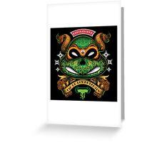 Dia De Los Mutantes Mikey Greeting Card