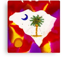 PALMETTO STATE Canvas Print